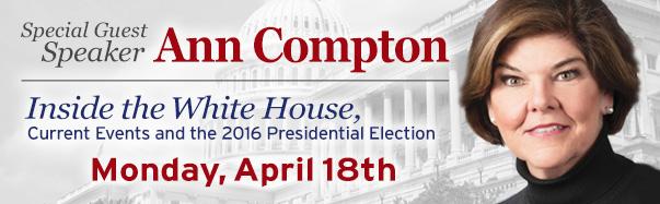 Guest Speaker Ann Compton